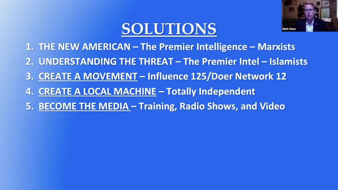 Webinar #4 - Building a Legislative Liberty Coalition