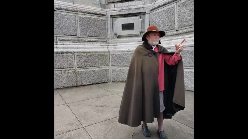 Covenant Renewal at the Forefather's Monument - Saturday May 8, 2021