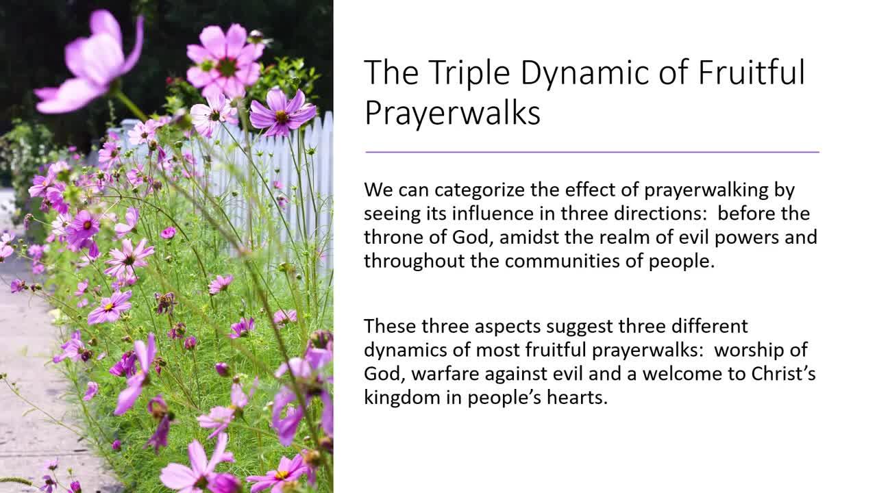 Chapter 3 Prayer Walking Beyond Technique